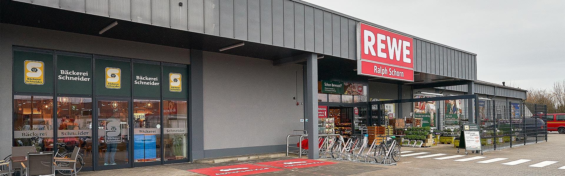 Supermarkt REWE Schorn in Bergheim / Niederaußem