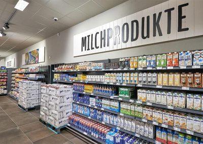 Milchprodukte von Supermarkt REWE Schorn
